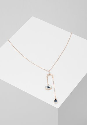 DUO PENDANT EVIL EYE - Ketting - dark multi
