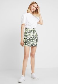 TWINTIP - A-line skirt - green - 2