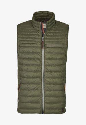 Waistcoat - dark green