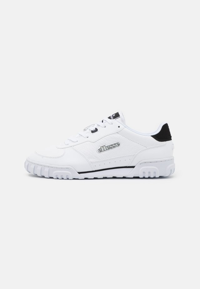 TANKER - Sneakers laag - white/black