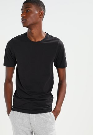 ONSBASIC O-NECK SLIM FIT - T-shirt basique - black