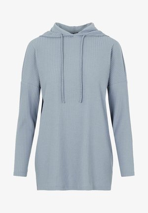 PCRIBBI - Jersey con capucha - blue fog