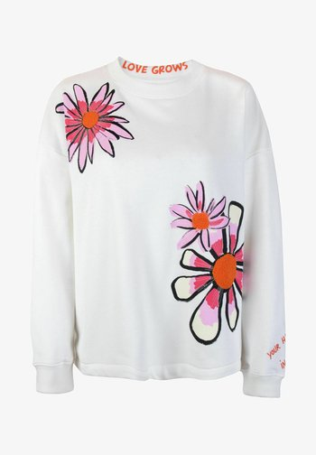 UTINAL - Sweatshirt - offwhite