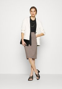 Part Two - TAMIKA - Pencil skirt - brown - 1