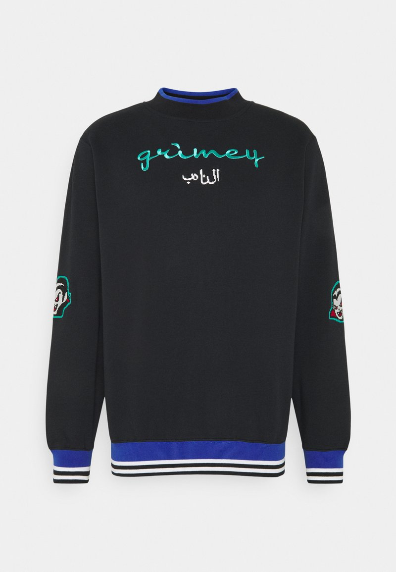 Grimey - ARCH RIVAL GHETTO LOVE CREWNECK UNISEX - Sweatshirt - black