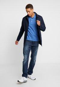 TOM TAILOR - MARVIN - Straight leg jeans - dark stone wash denim blue - 1