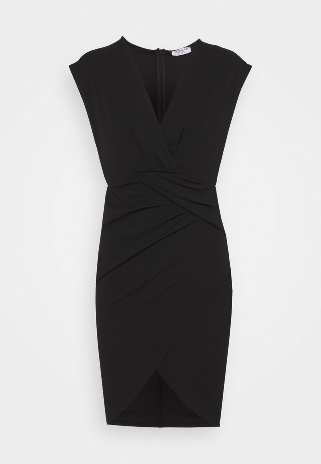 MIRAY - Jersey dress - black