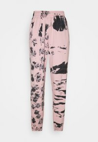 Missguided - TIE DYE JOGGER - Tracksuit bottoms - pink - 3