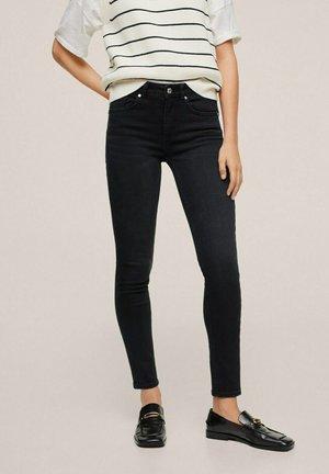 PUSHUP - Skinny džíny - black denim