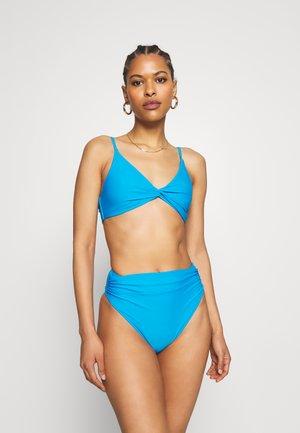 TWIST FRONT - Bikini - blue