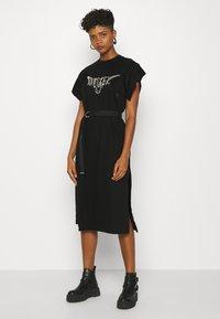 Diesel - D-FLIX-C DRESS - Jersey dress - black - 0