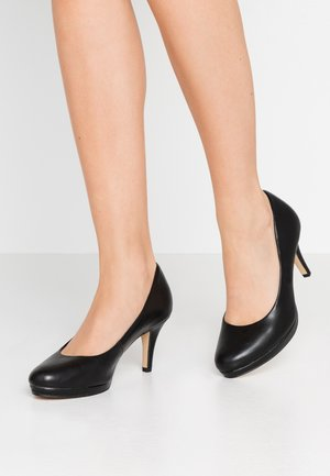 Tacones - black matt