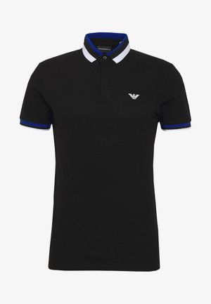 Poloshirt - black/blue