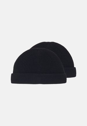 ONSSHORT BEANIE 2 PACK - Berretto - black