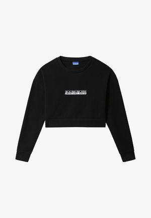 B-BOX CROPPED - Felpa - black