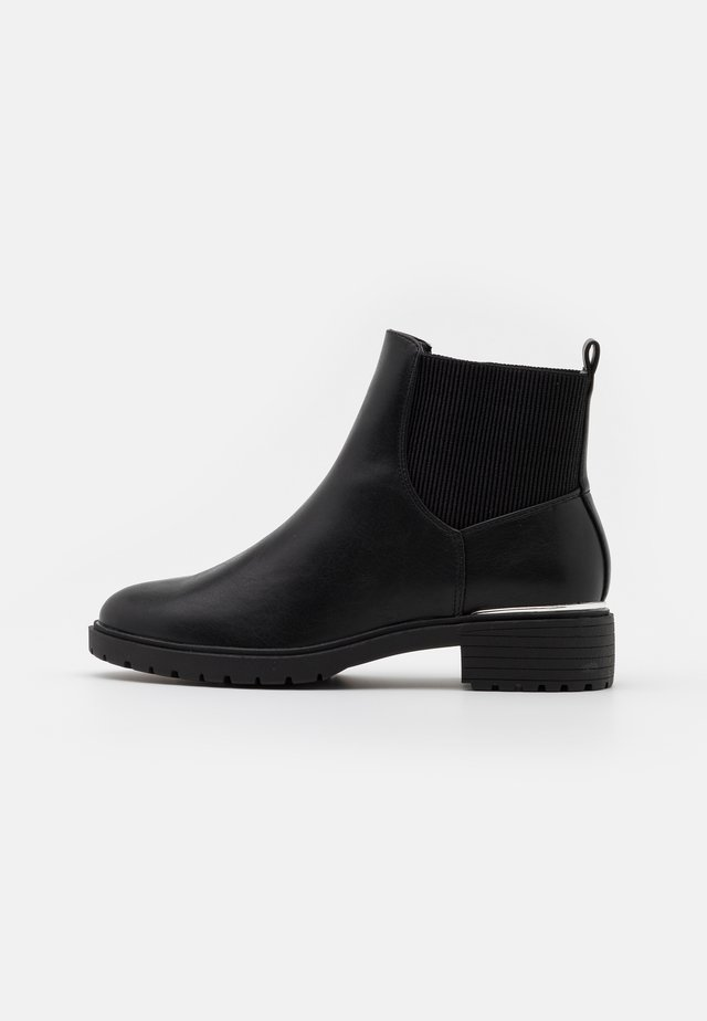 WIDE FIT DAPPER  - Botines - black