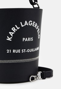 KARL LAGERFELD - RUE GUILLAUME BUCKET - Sac à main - black - 4