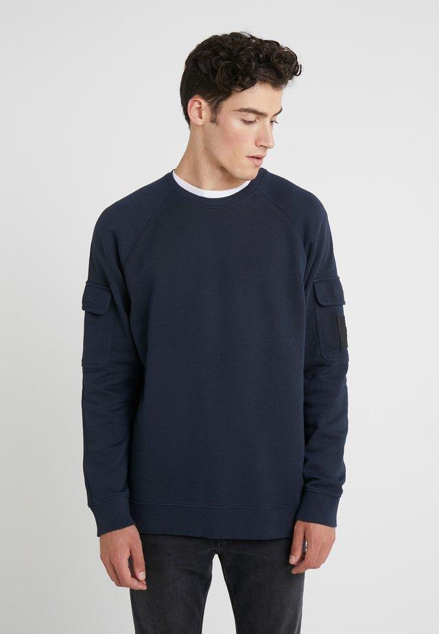 ARMY CREW - Sweatshirt - salute blue