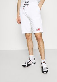 Calvin Klein - SUMMER GRAPHIC PRINT  - Shorts - bright white - 0