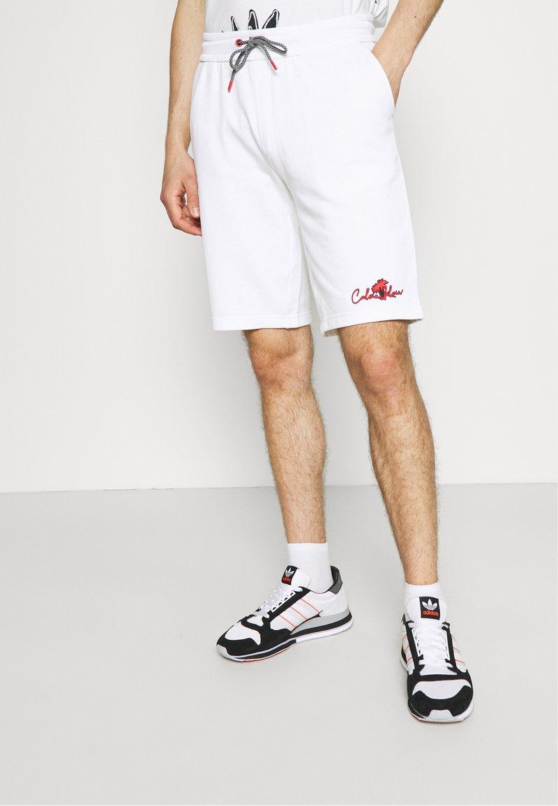 Calvin Klein - SUMMER GRAPHIC PRINT  - Shorts - bright white
