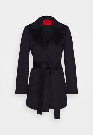 SHORTRUN - Classic coat - blue