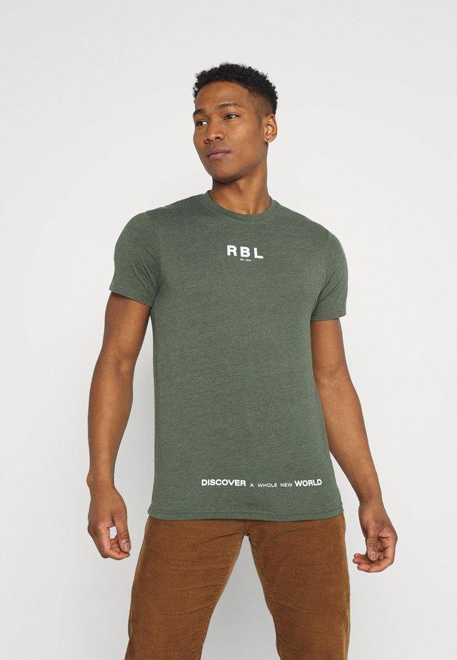 MAKAI TEE - T-shirt print - thyme melange