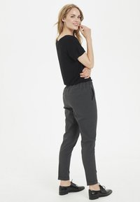 Kaffe - NANCI JILLIAN - Trousers - dark grey - 4