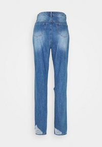 Missguided Tall - RIOT HIGH RISE RIPPED  - Relaxed fit jeans - blue - 1