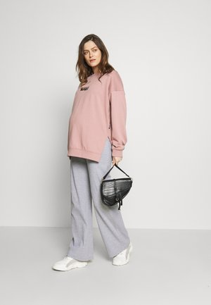 MATERNITY TROUSER - Tygbyxor - grey