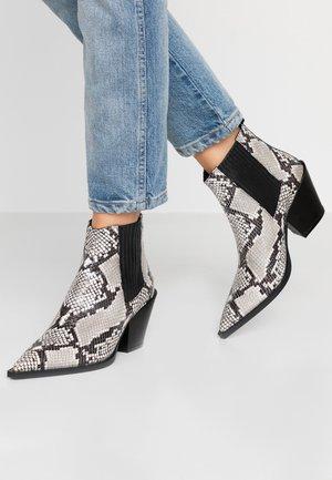 Ankle boot - roccia/nero