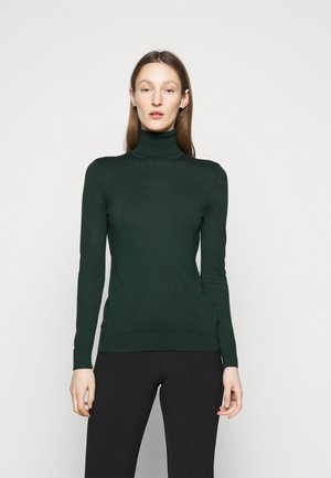 CASH PLUS TURTLENECK - Svetr - deep pine