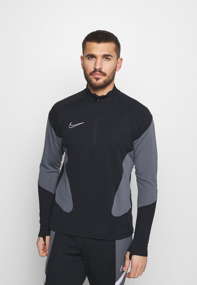 Nike Performance - DRY ACADEMY SUIT - Tracksuit - black/black/white/white