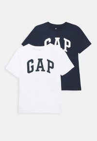 GAP - BOYS LOGO TEE 2 PACK - T-shirt print - multi coloured - 0