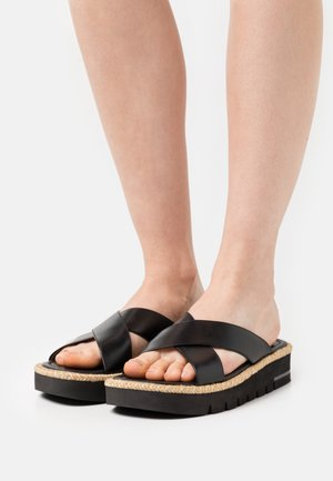 ROZA LIFT SLIDE - Mules - black