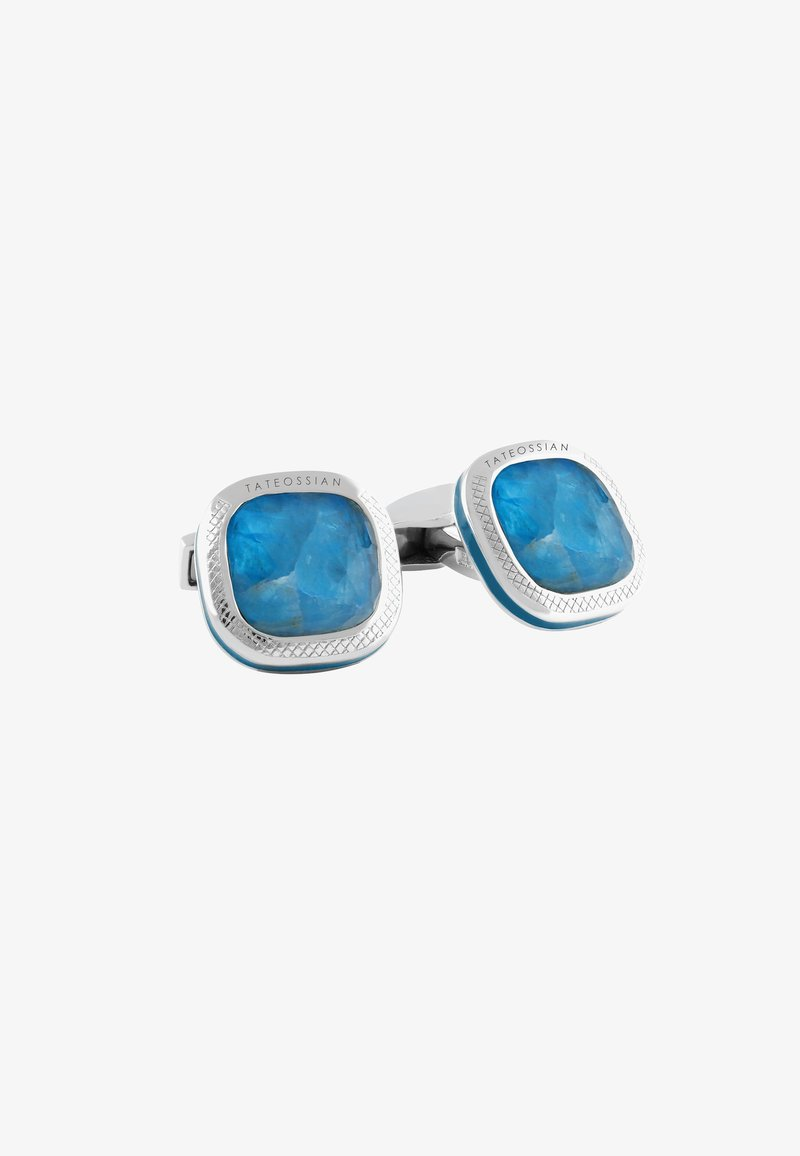 Tateossian - DOPPIONE CUSHION - Cufflinks - blue