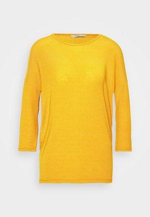 ONLGLAMOUR - Top sdlouhým rukávem - golden yellow