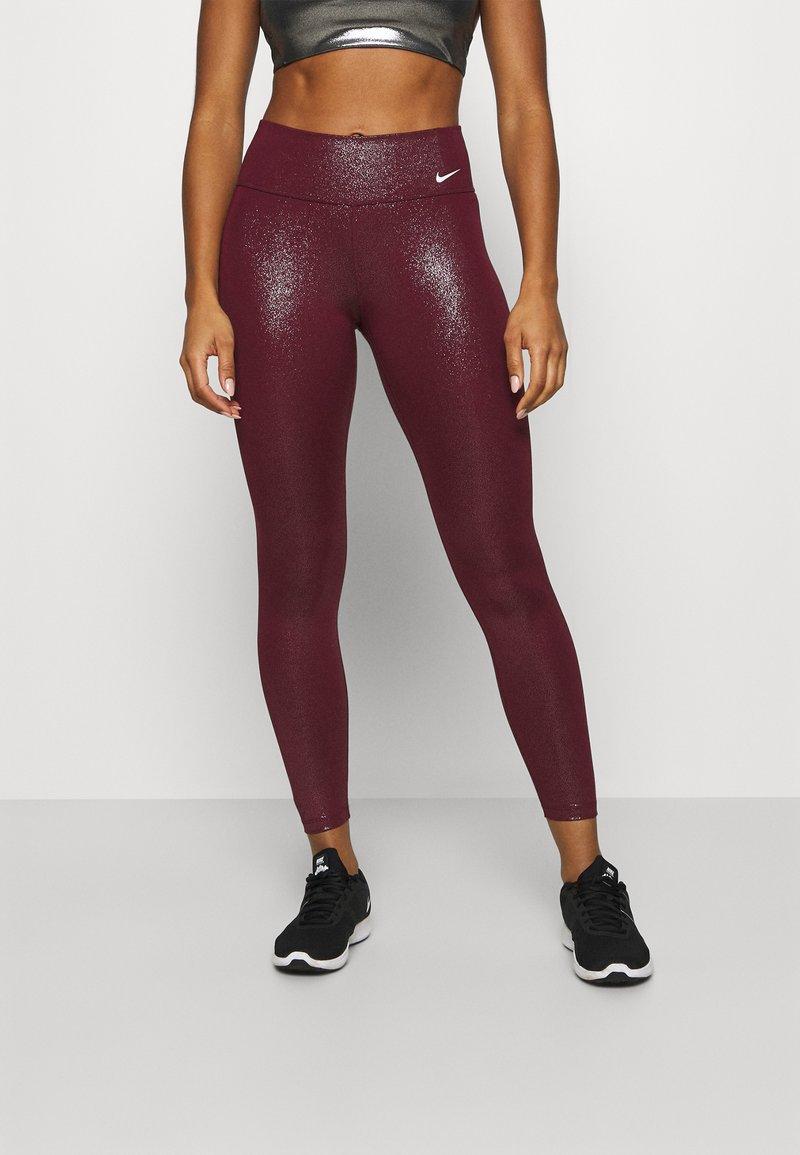 Nike Performance - Leggings - dark beetroot