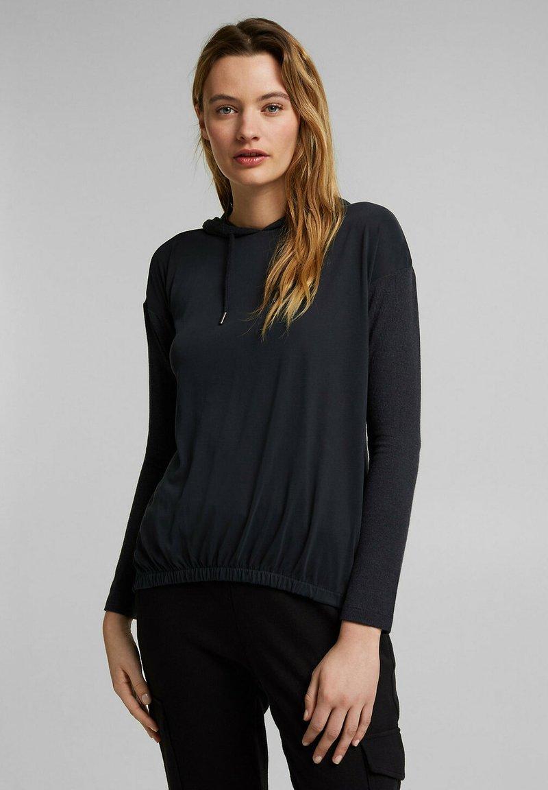 Esprit - FASHION - Long sleeved top - black