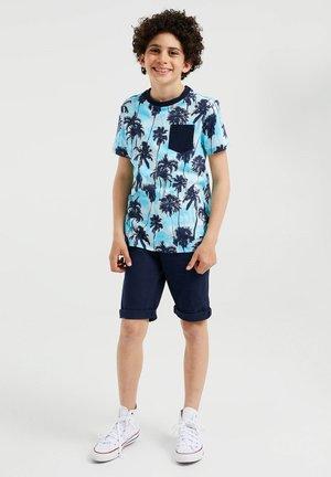 MET PALMBOOMDESSIN - Print T-shirt - blue