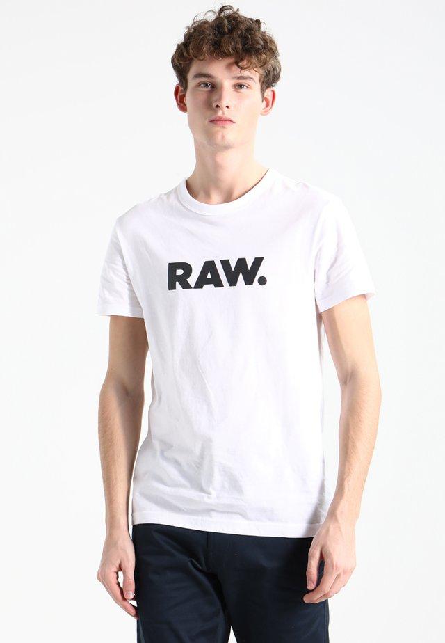 HOLORN - Print T-shirt - white