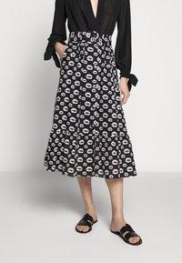 Hofmann Copenhagen - ERICA - Áčková sukně - black - 0