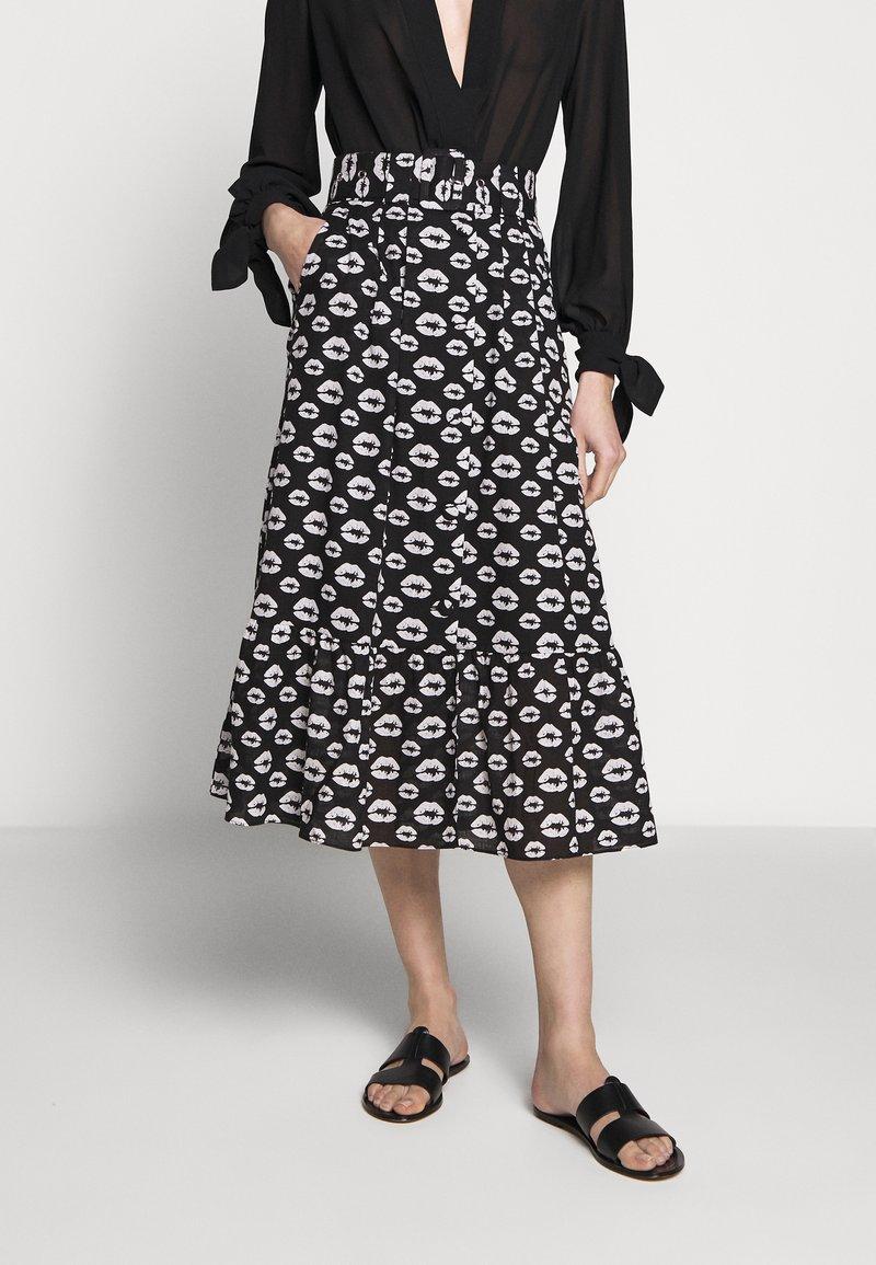 Hofmann Copenhagen - ERICA - Áčková sukně - black