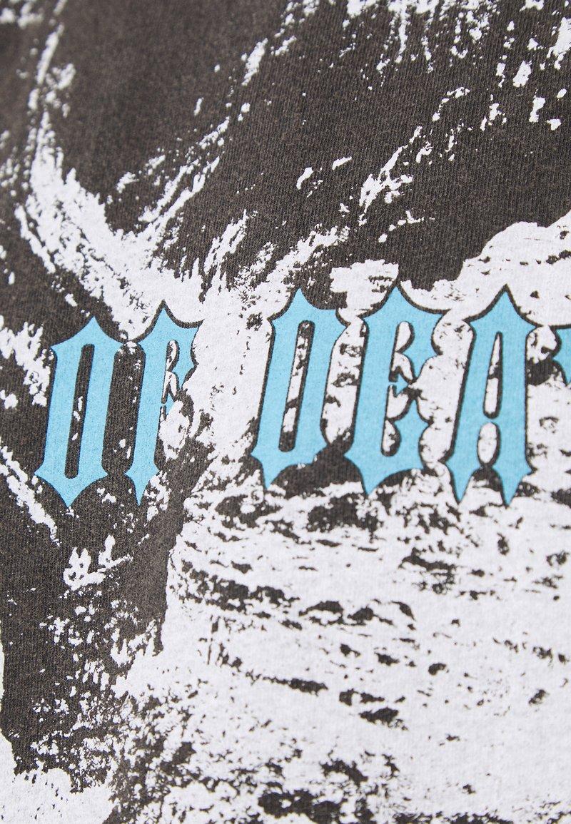 Mennace VALLEY - T-Shirt print - charcoal/dunkelgrau-meliert oU4rpr