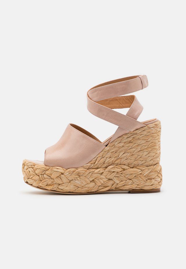 ATUEL - Sandalen met hoge hak - light pink