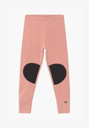 PATCH UNISEX - Leggings - Trousers - dusty pink/black