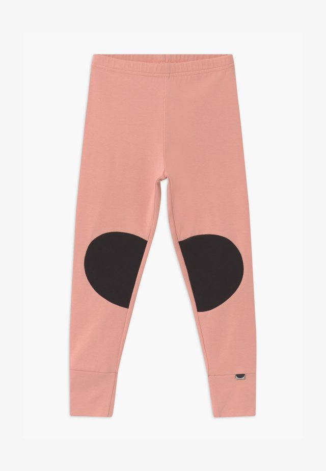 PATCH UNISEX - Legging - dusty pink/black