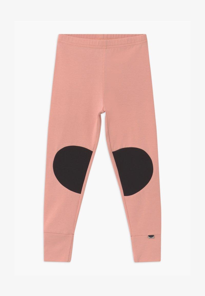 Papu - PATCH UNISEX - Legíny - dusty pink/black