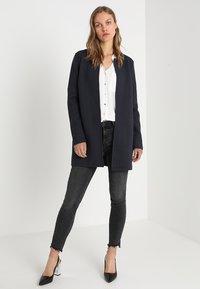 Vila - VINAJA NEW LONG JACKET - Summer jacket - dark blue - 1