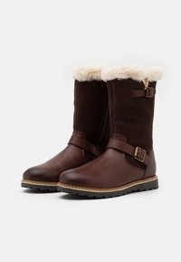 Friboo - Snowboots  - dark brown - 1