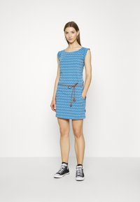 Ragwear - ZIG ZAG - Jersey dress - blue - 1